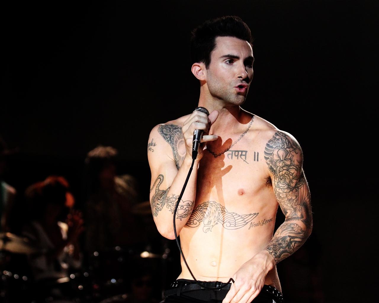 Adam Levine Boy Hairstyle Stylist Top Hd Adam Levine Wallpaper Men Hd Adam Levine Wallpapers Wallpaper 1280x1024