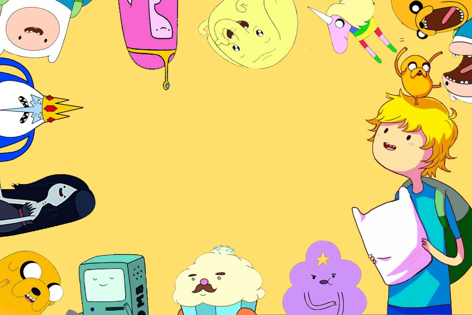 Adventure Time wallpaper Typography Pinterest Cartoon ...