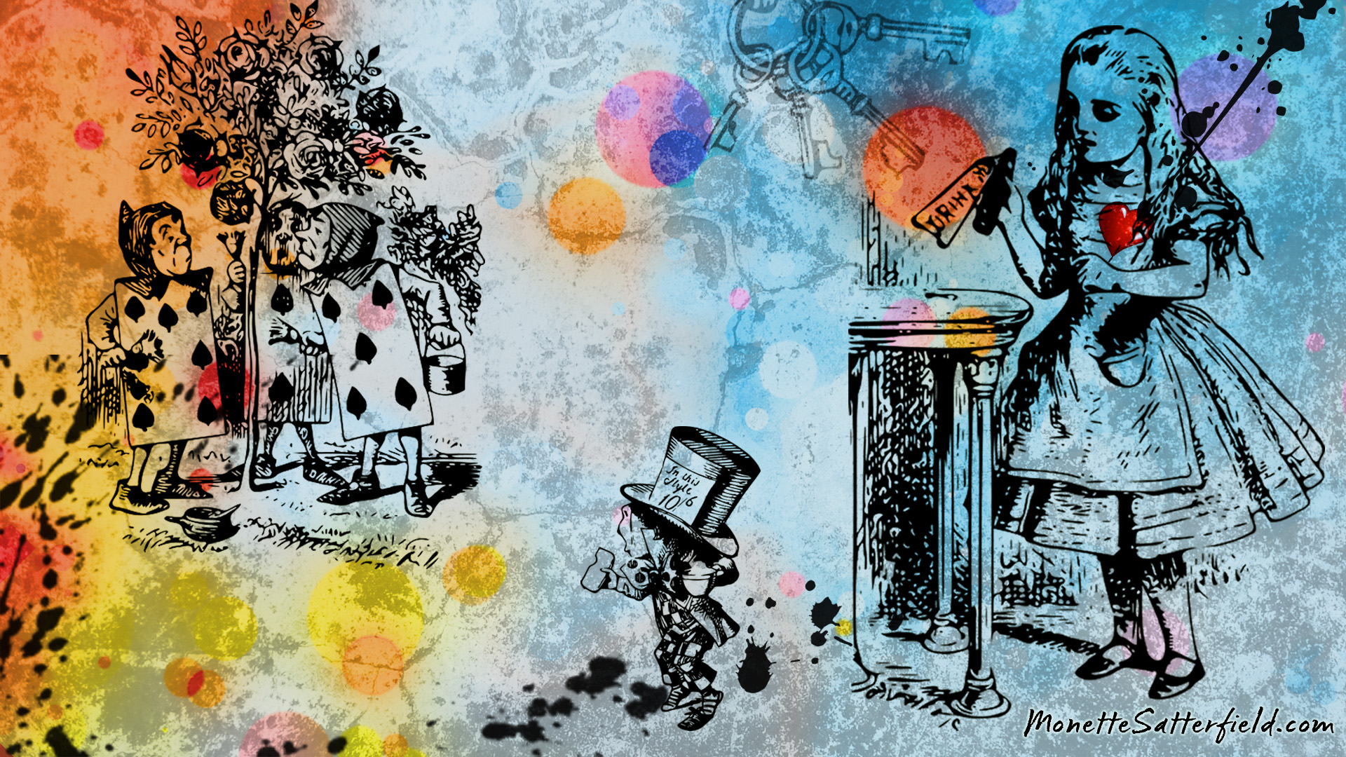 alice in wonderland desktop backgrounds 37 wallpapers