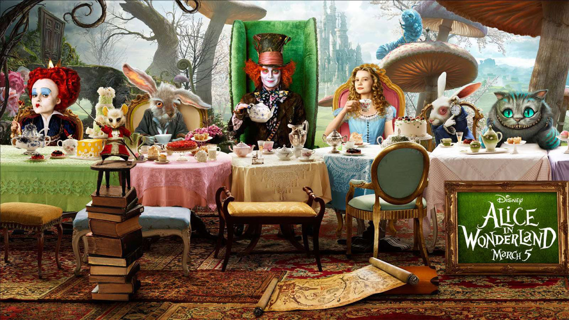 Alice Through The Looking Glass Wallpapers 10 Wallpapers