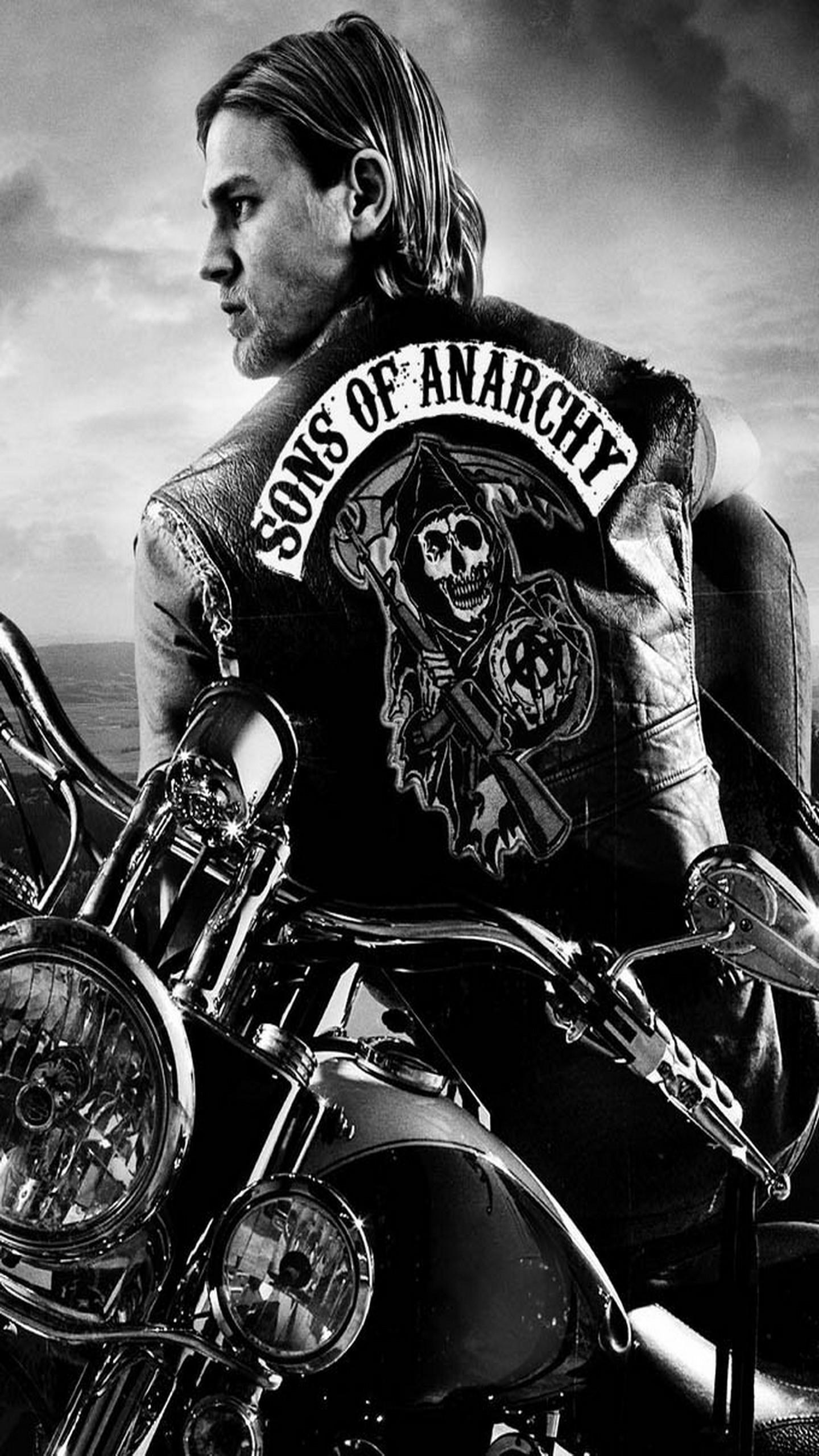 Sons Of Anarchy Logo Android Wallpaper Free