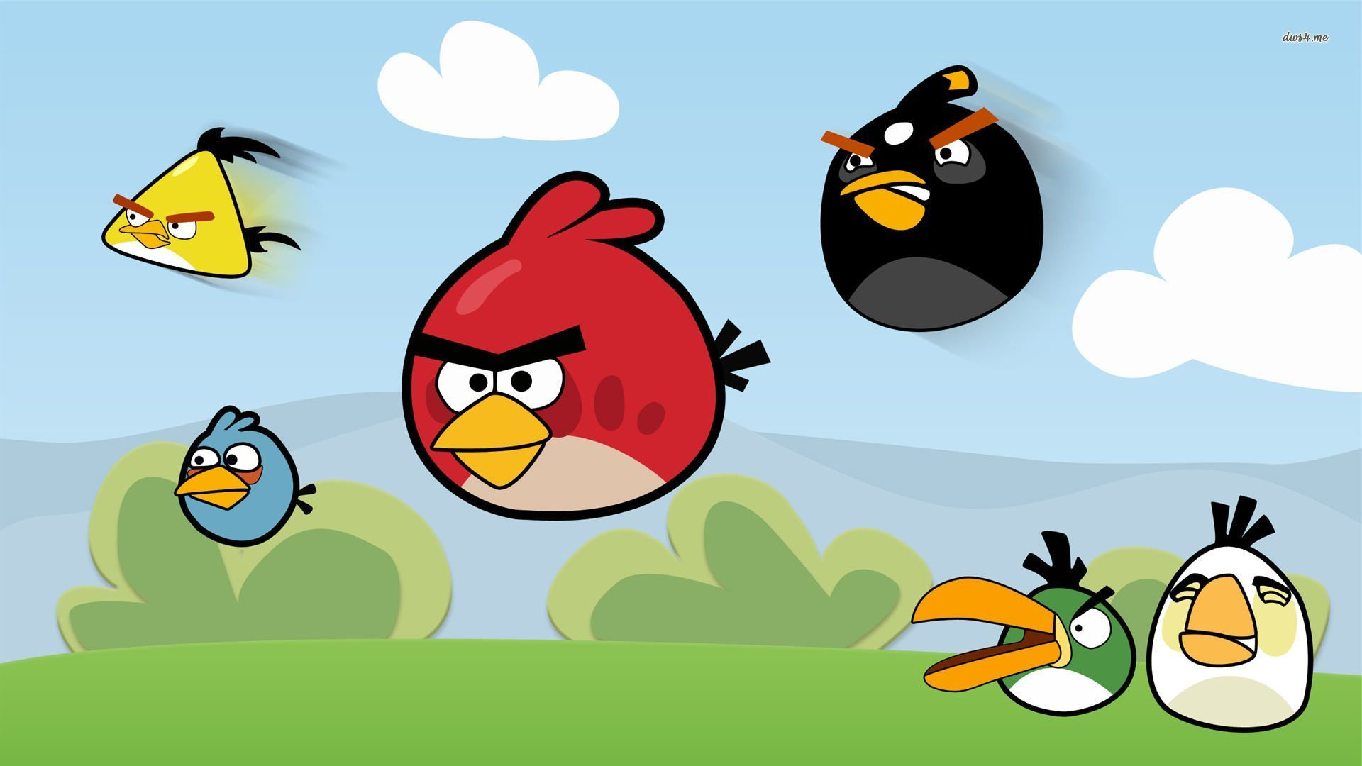 angry birds wallpaper d
