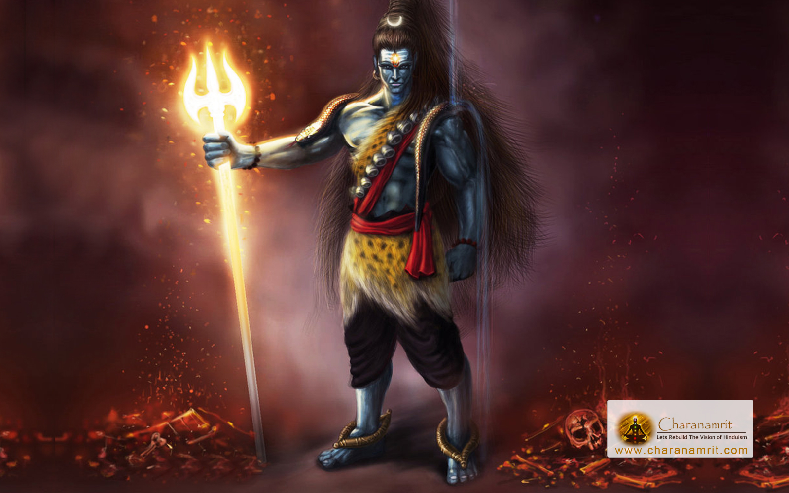 lord shiva angry wallpapers collection 16 wallpapers