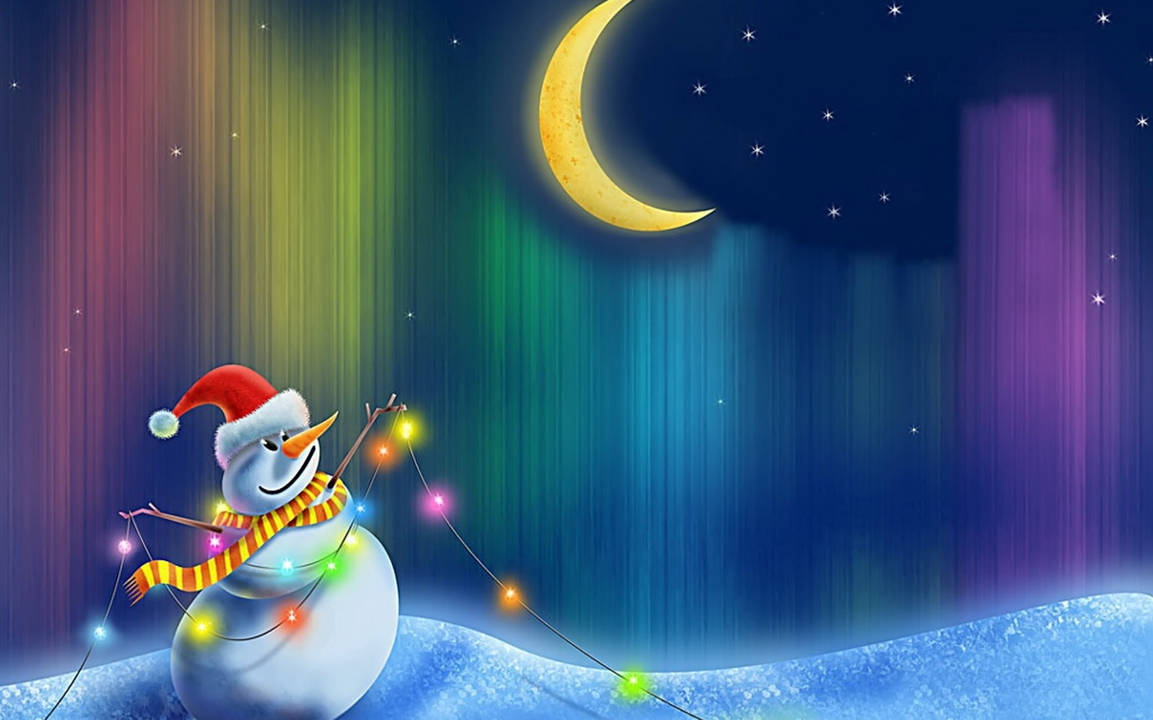 animated christmas wallpapers for desktop 1680x1050 - Animated Christmas Wallpaper