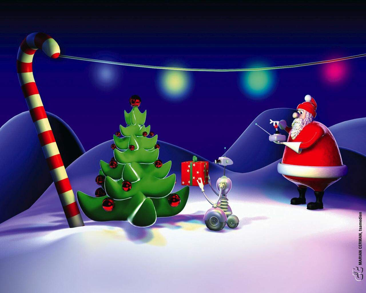 Animated Christmas Wallpapers For Desktop That You Can Use 1280x1024