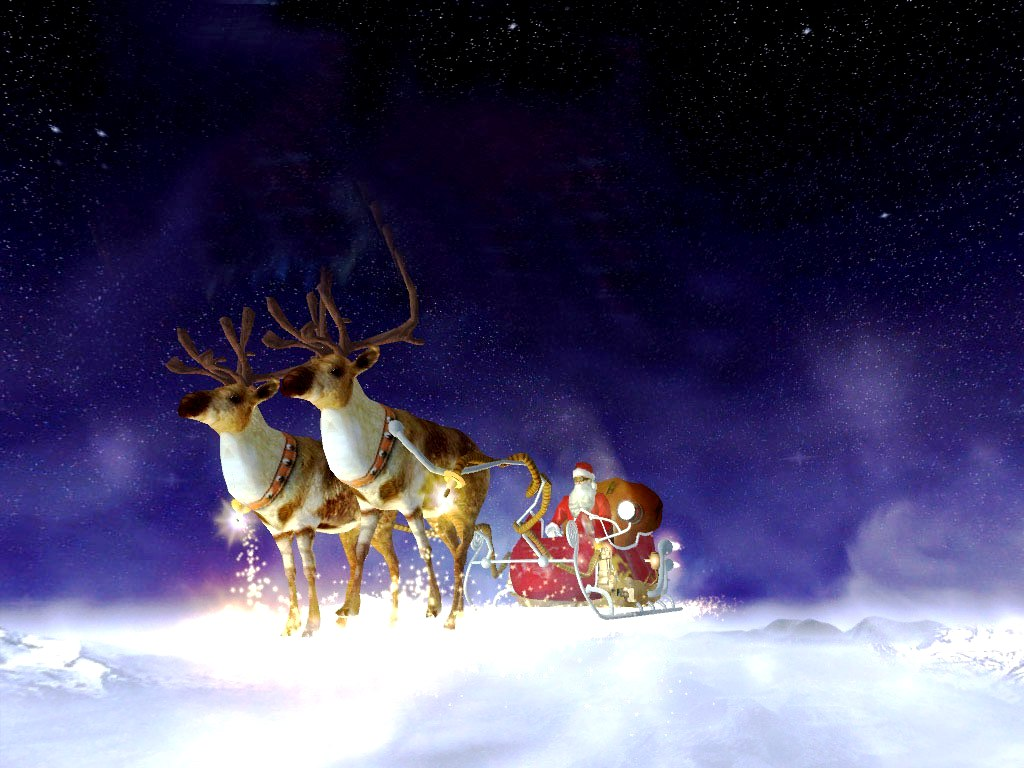 Christmas Wallpaper 3d Animated Merry And Happy New Year