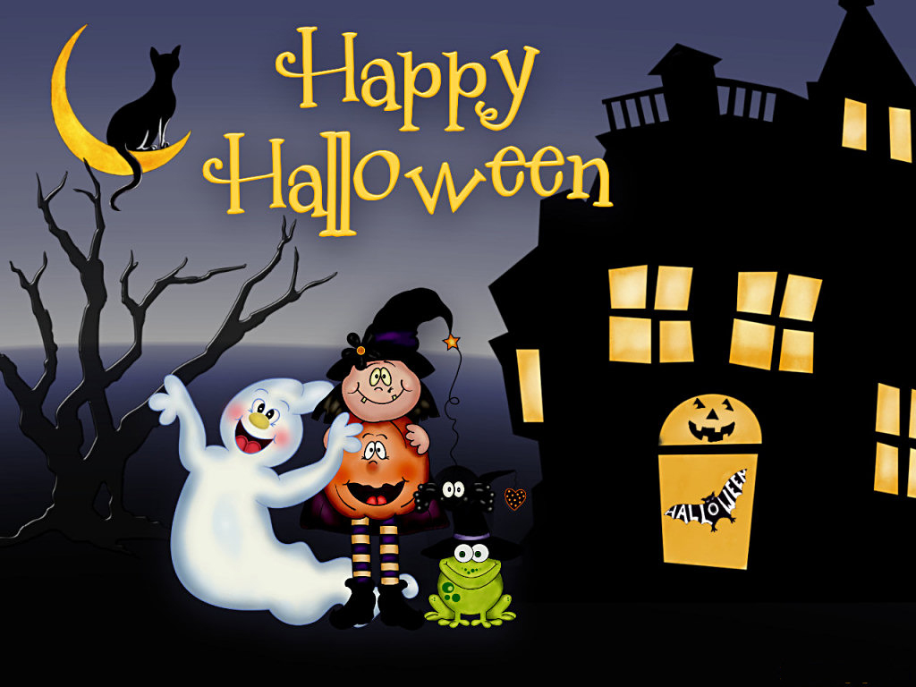 free animated halloween screensavers free halloween desktop 1024768 - Halloween Screensavers Animated