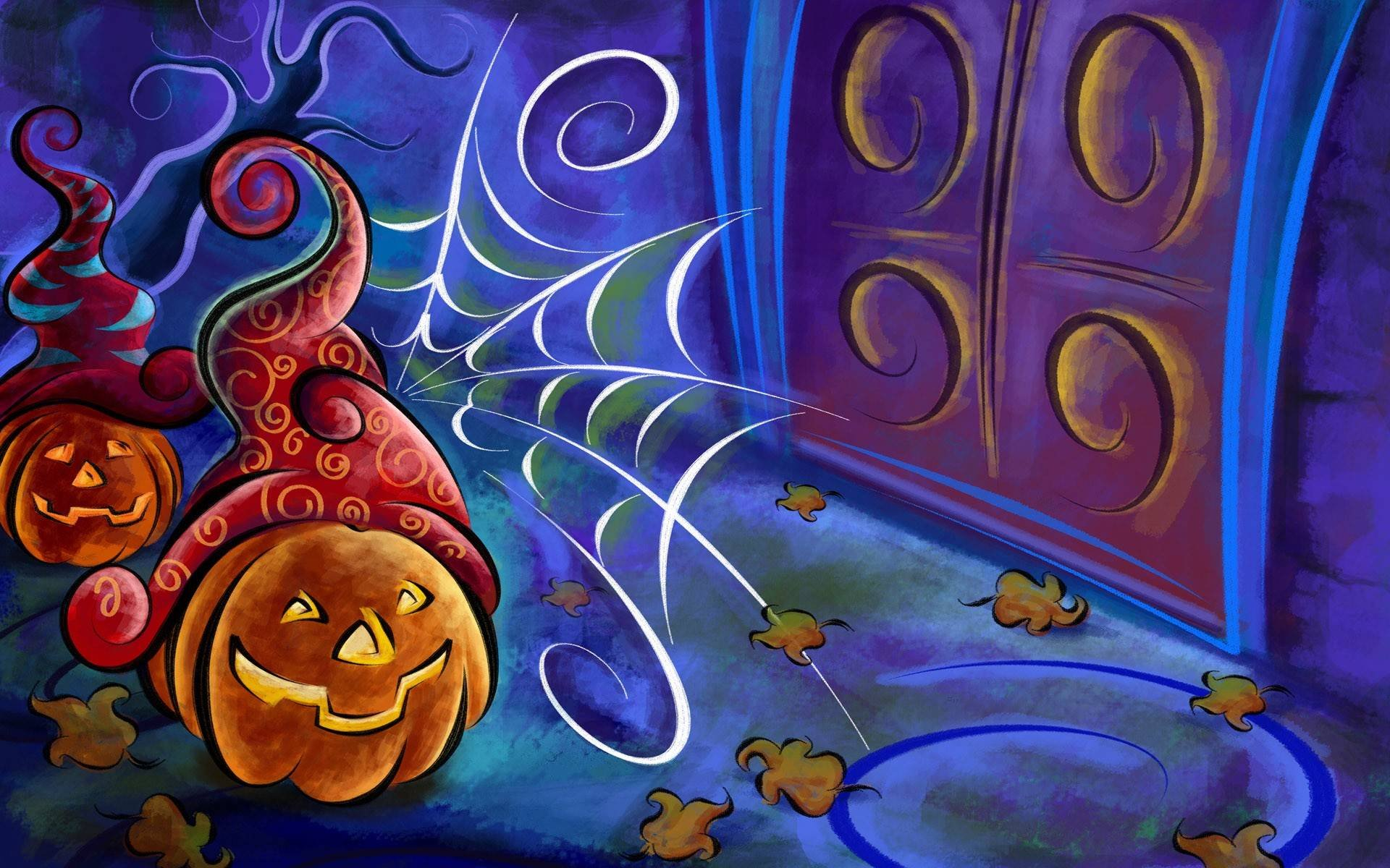 Animated Halloween Wallpapers with Music 1920x1200