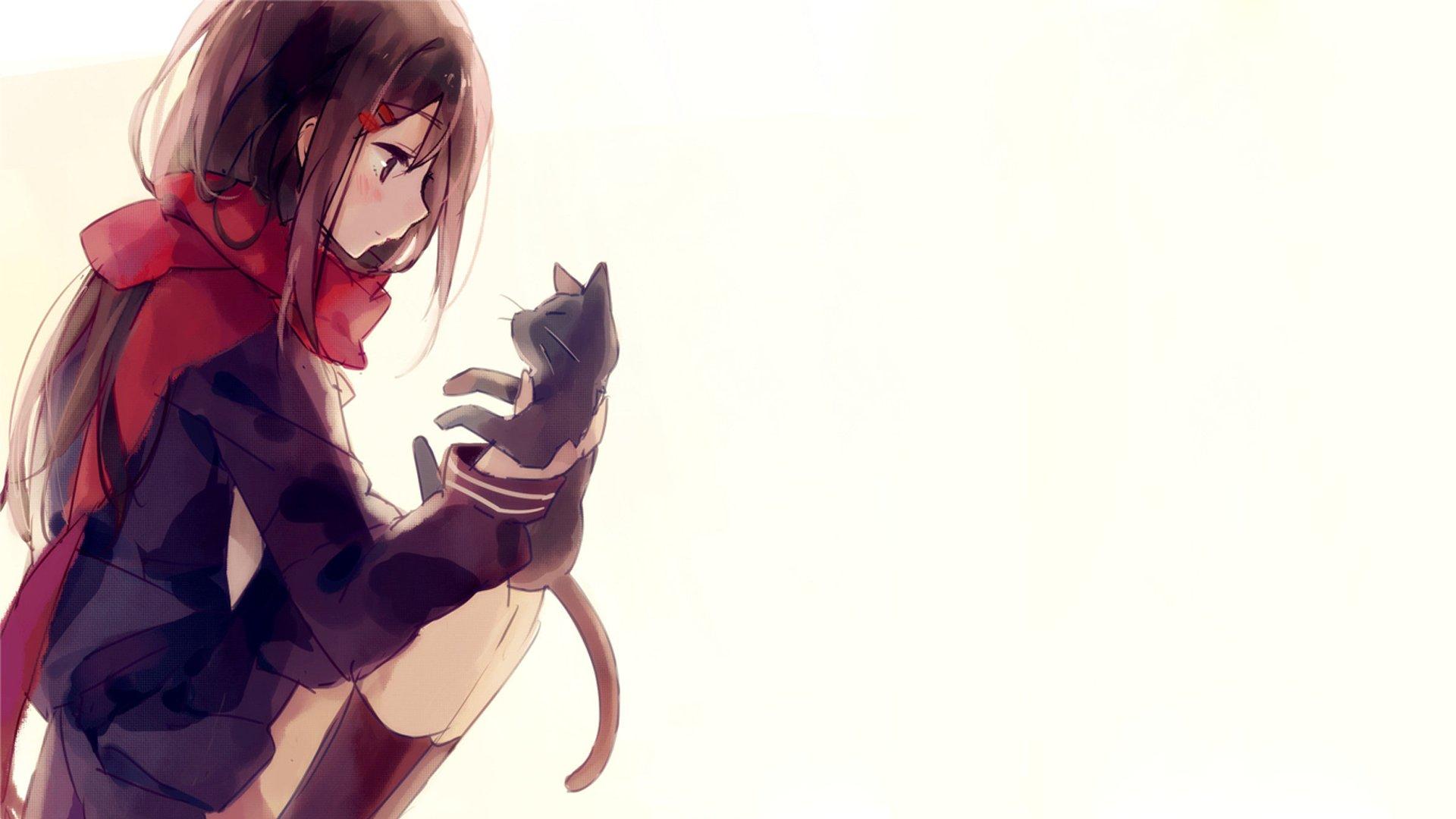 anime catgirl