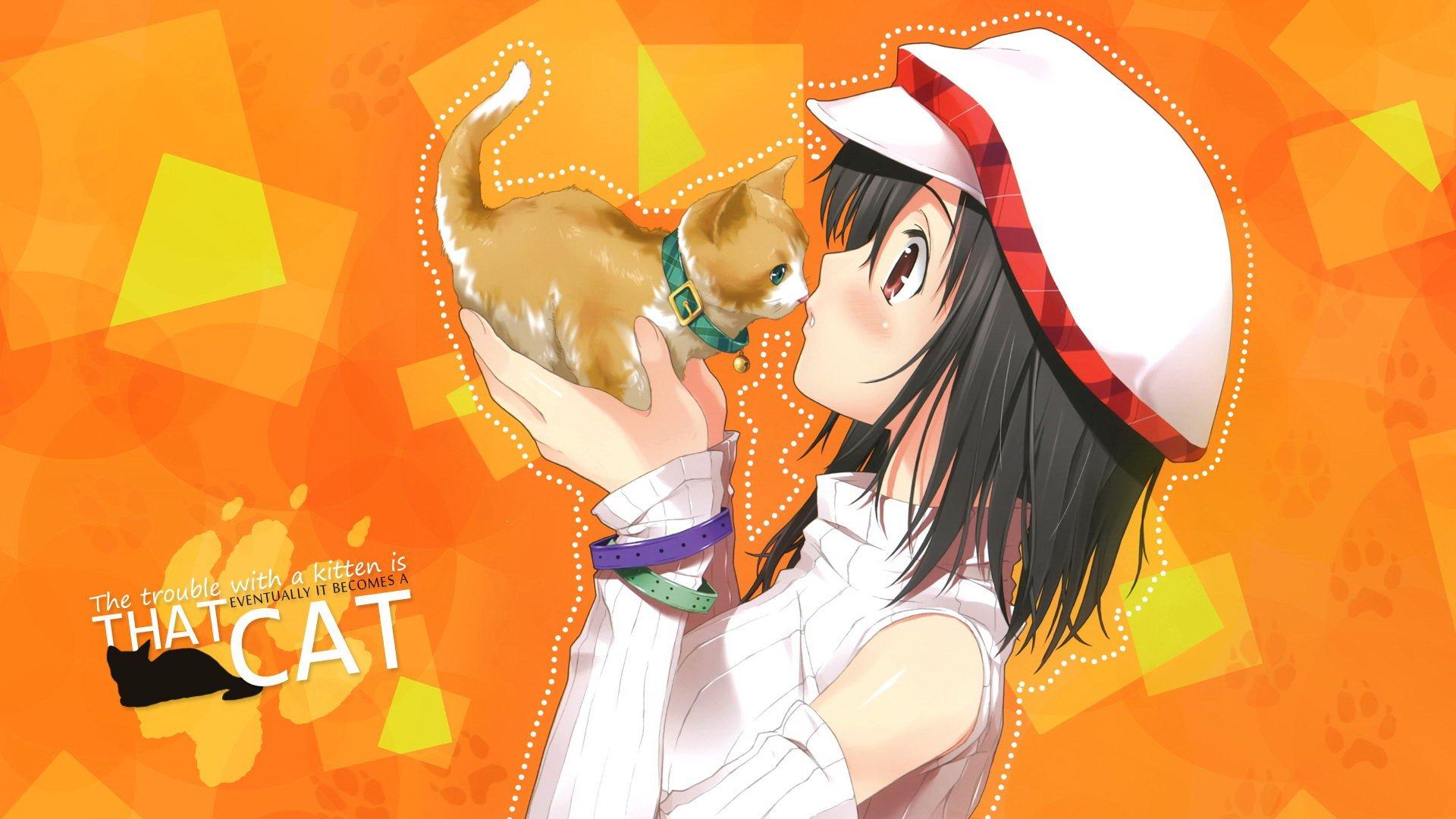 Anime Catgirl Hd Wallpaper Anime Wallpaper Better 1920x1080