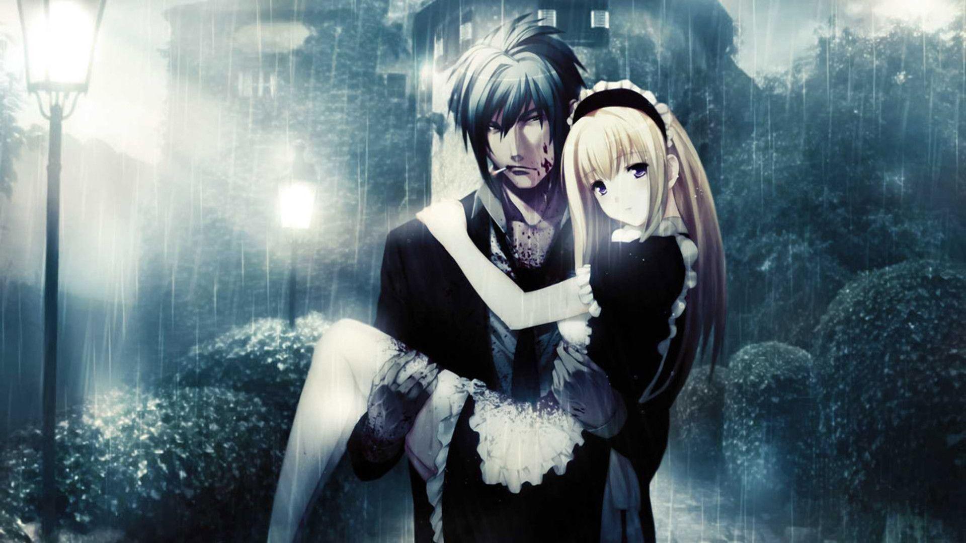 Romantic Anime Wallpaper Couples