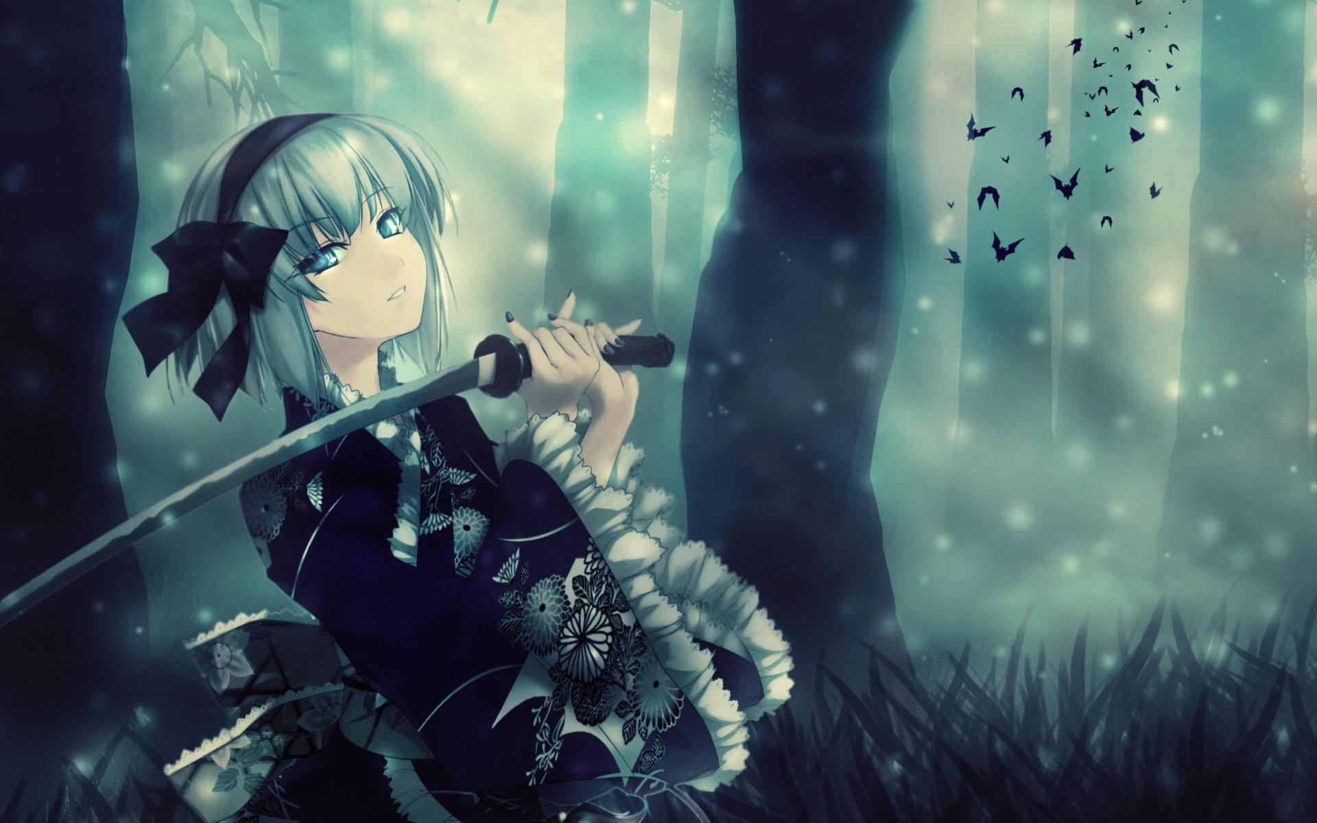 Hd Anime Girl Wallpaper 1920x1200