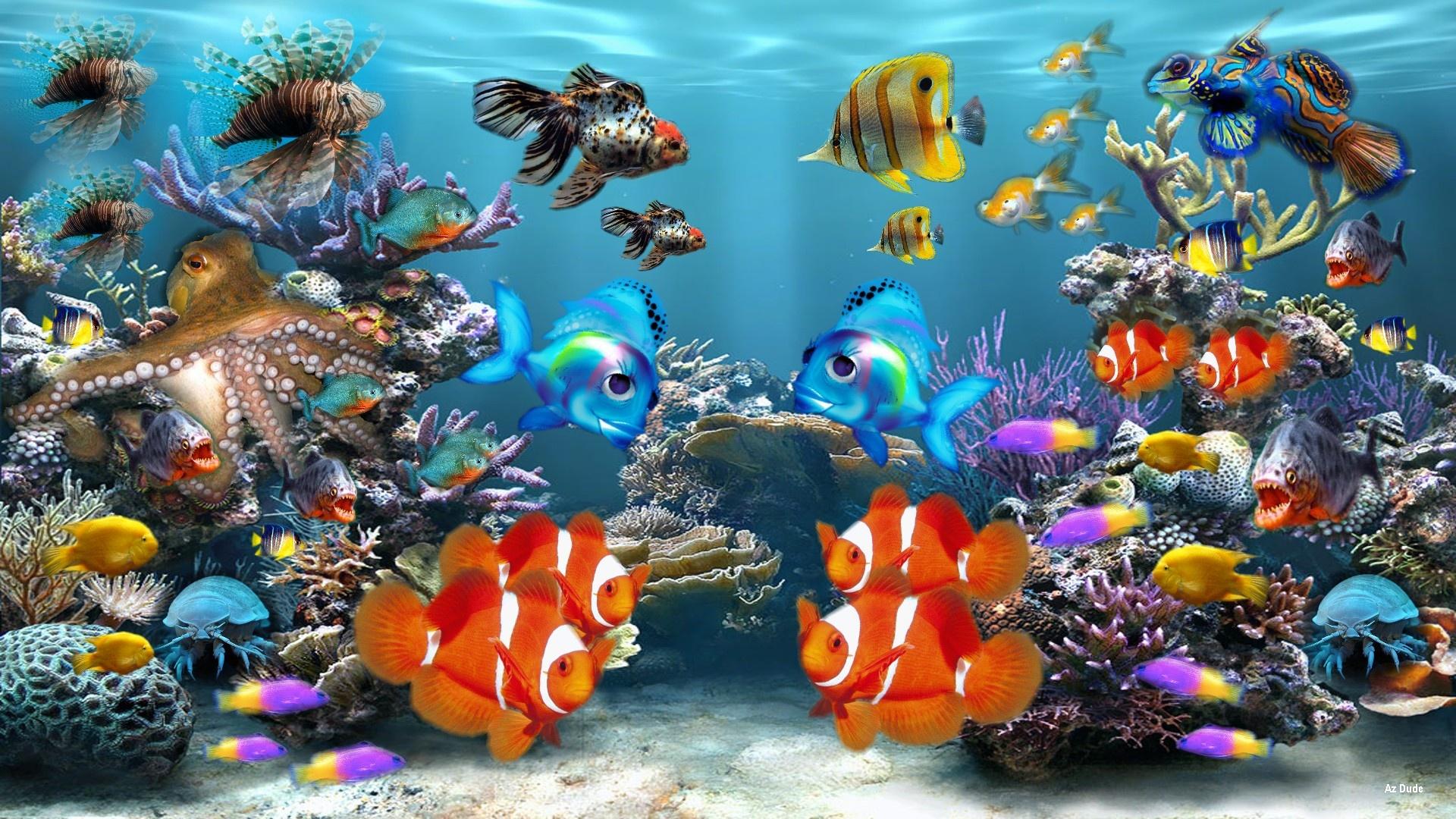aquarium wallpaper 003