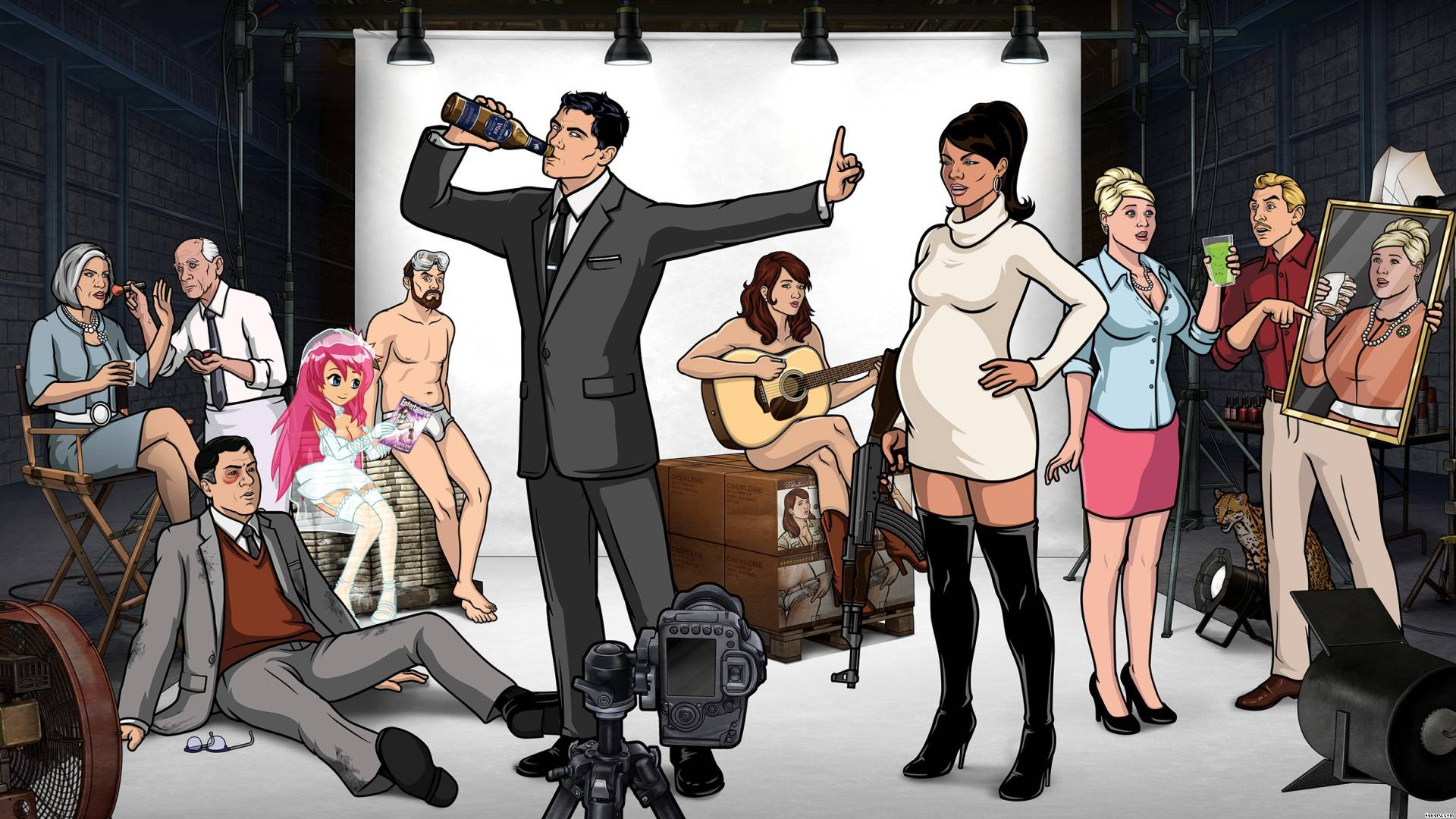Archer HD Wallpapers and Backgrounds 1920x1080