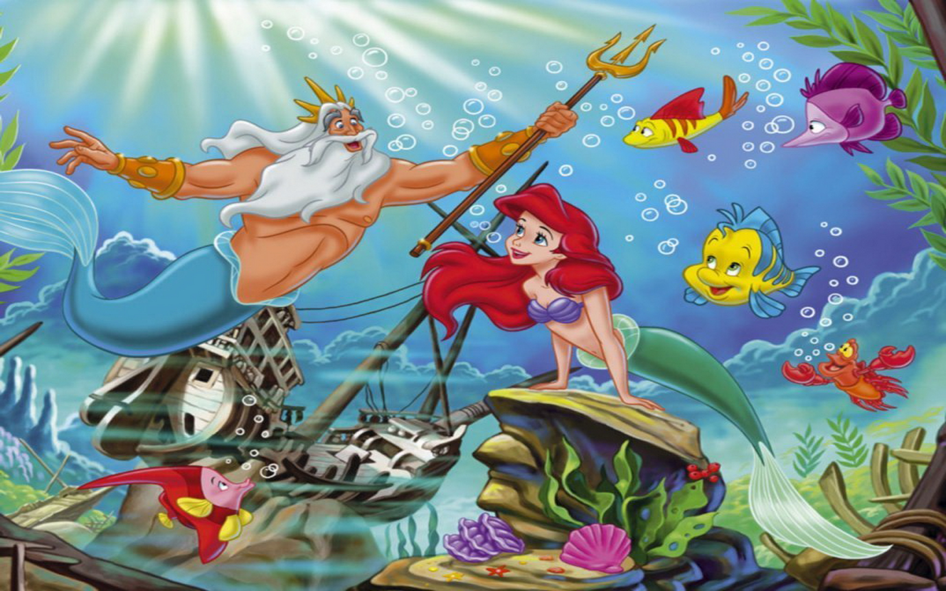 Ariel Wallpaper Hd X Wallpaperlayer The Little Mermaid Wallpaper For The Iphone And Ipod Touch 1920x1200