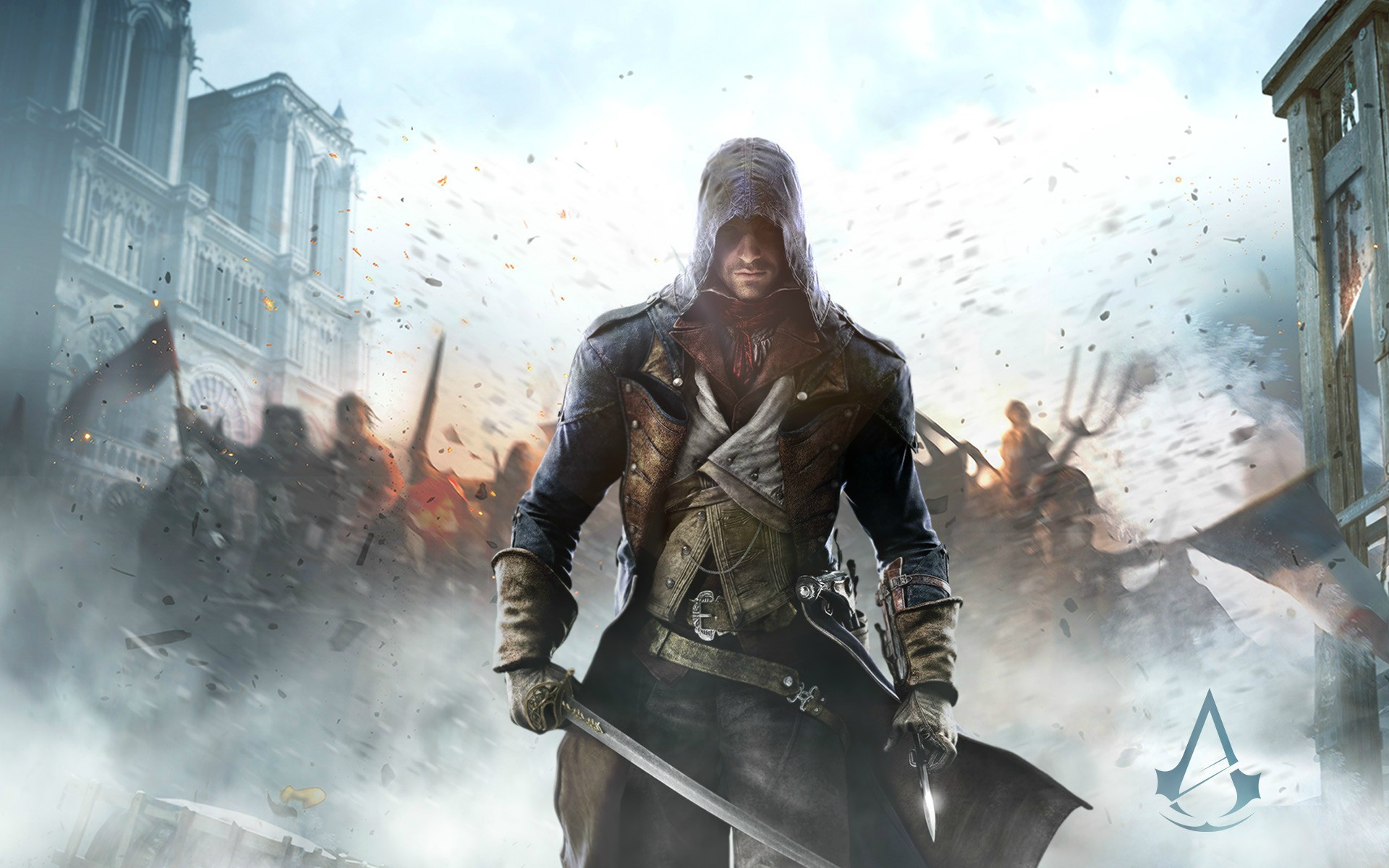Assassins Creed Unity Wallpaper Background x 1920x1200