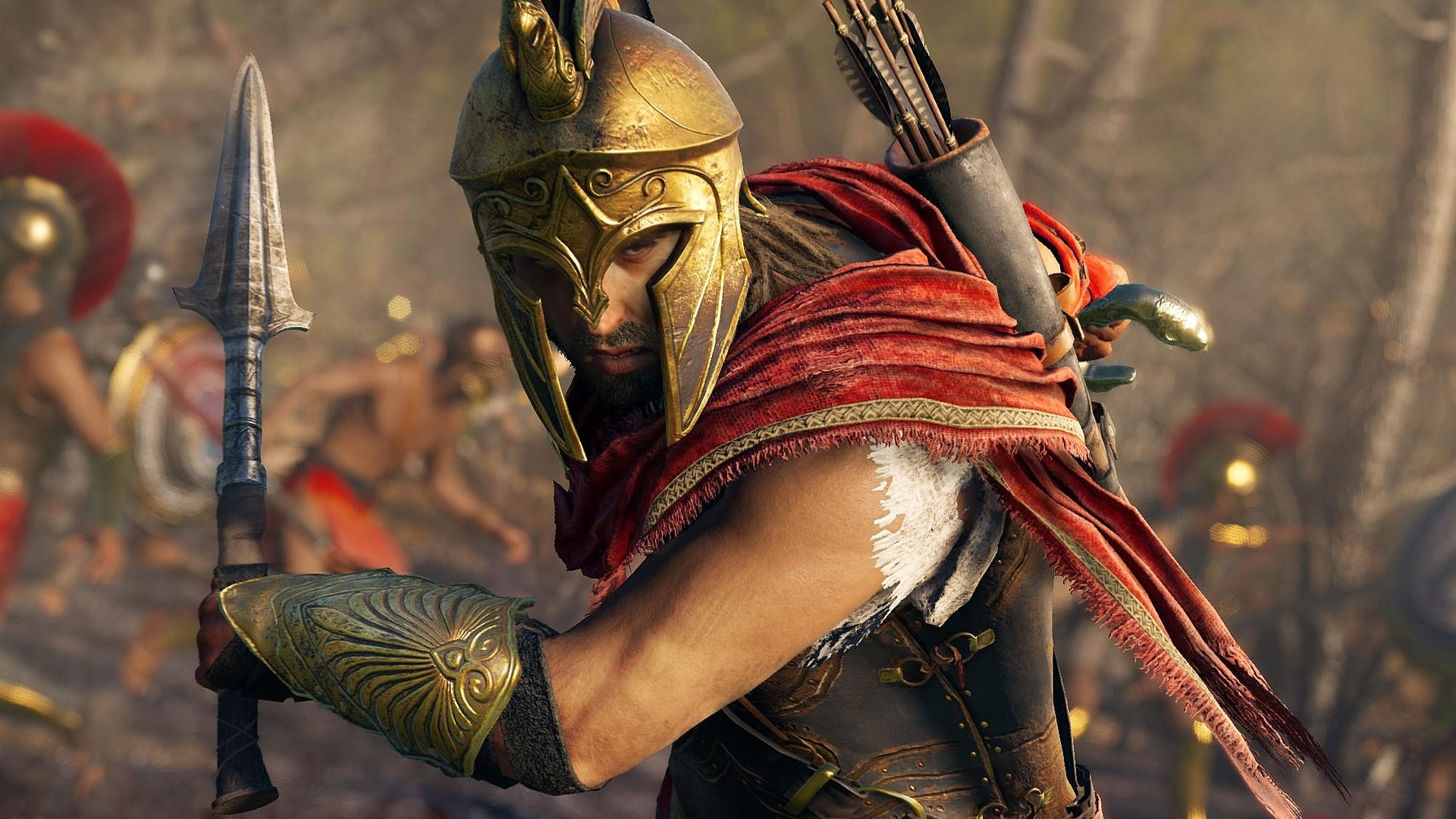 Assassins Creed Odyssey Leaked Via Collectible Keychain Push