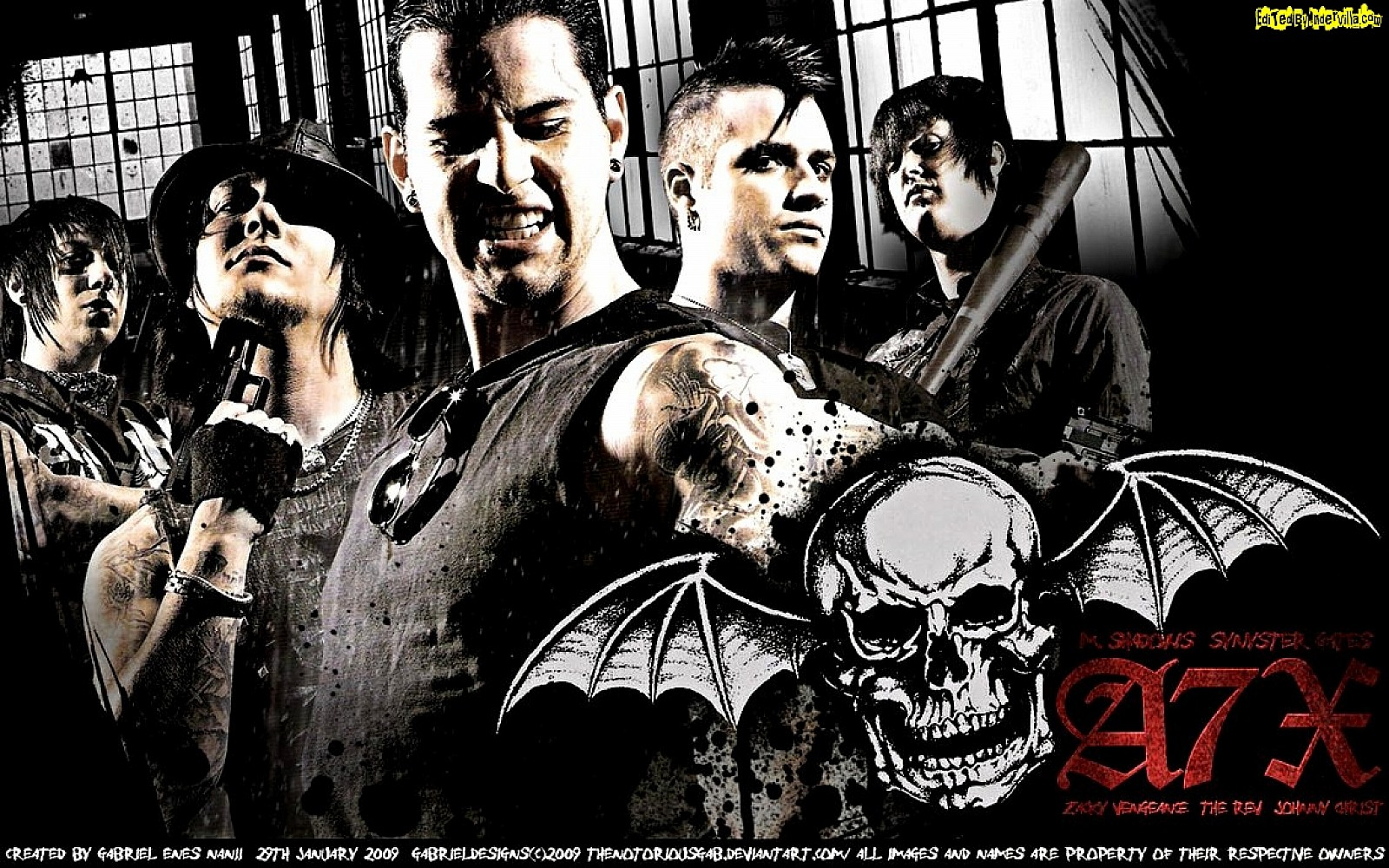 Avenged Sevenfold HD Wallpapers  Backgrounds  Wallpaper  1600x1000