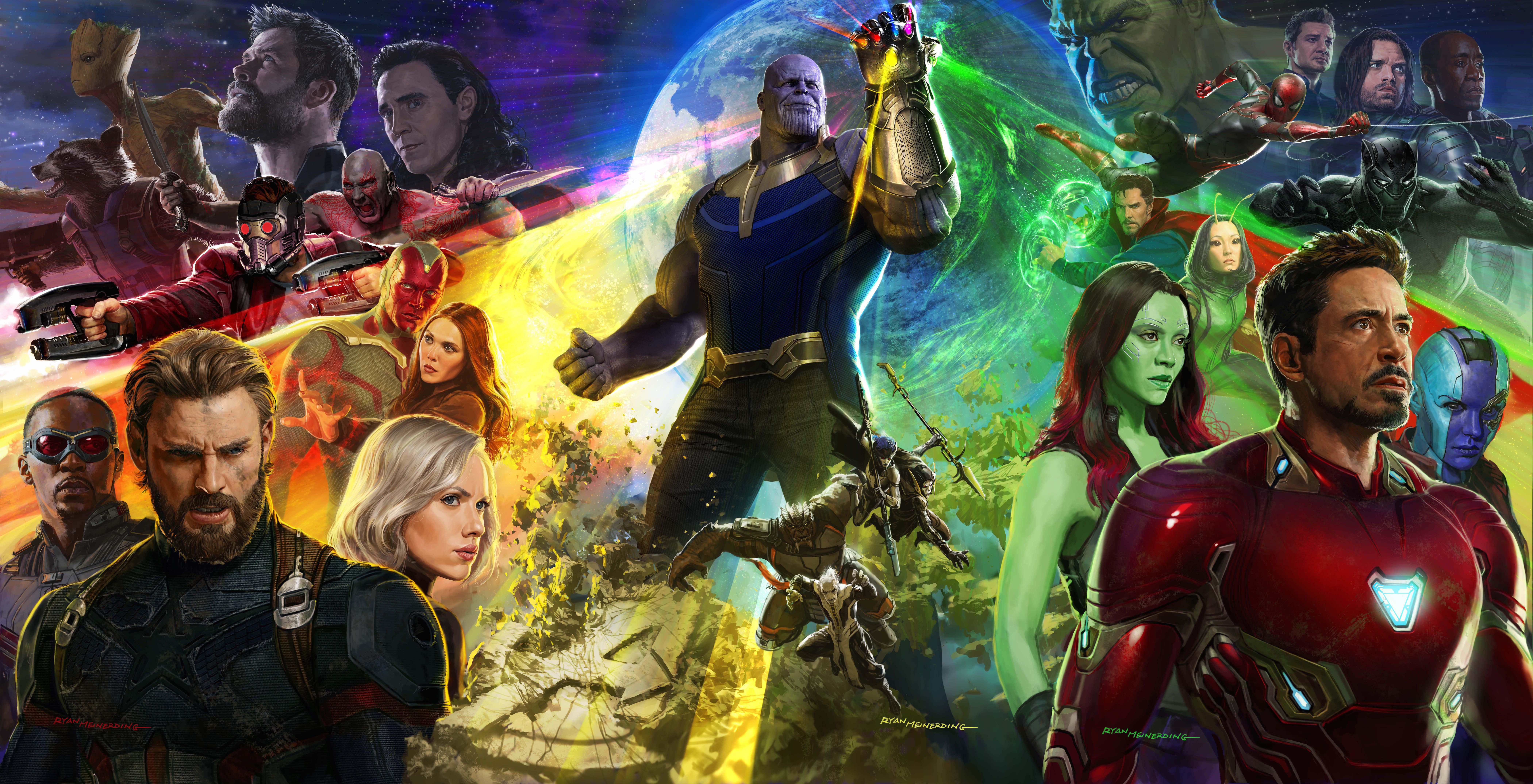 Avengers Infinity War HD Wallpapers Background Images