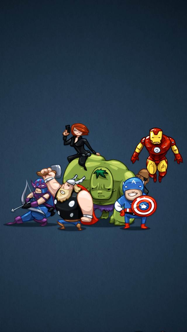 The Avengers Wallpaper Mobile Wallpapers Hd Phone Wallpapers 640x1136