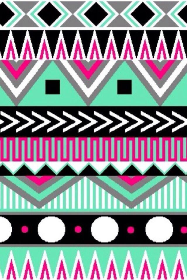 cute aztec wallpaper patterns