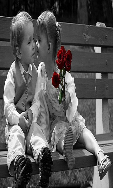 Cute Baby Kiss Couple Wallpapers At Hdwallpapersz CuteBabiesKissWidescreen Tips And Tricks Simply 480x800