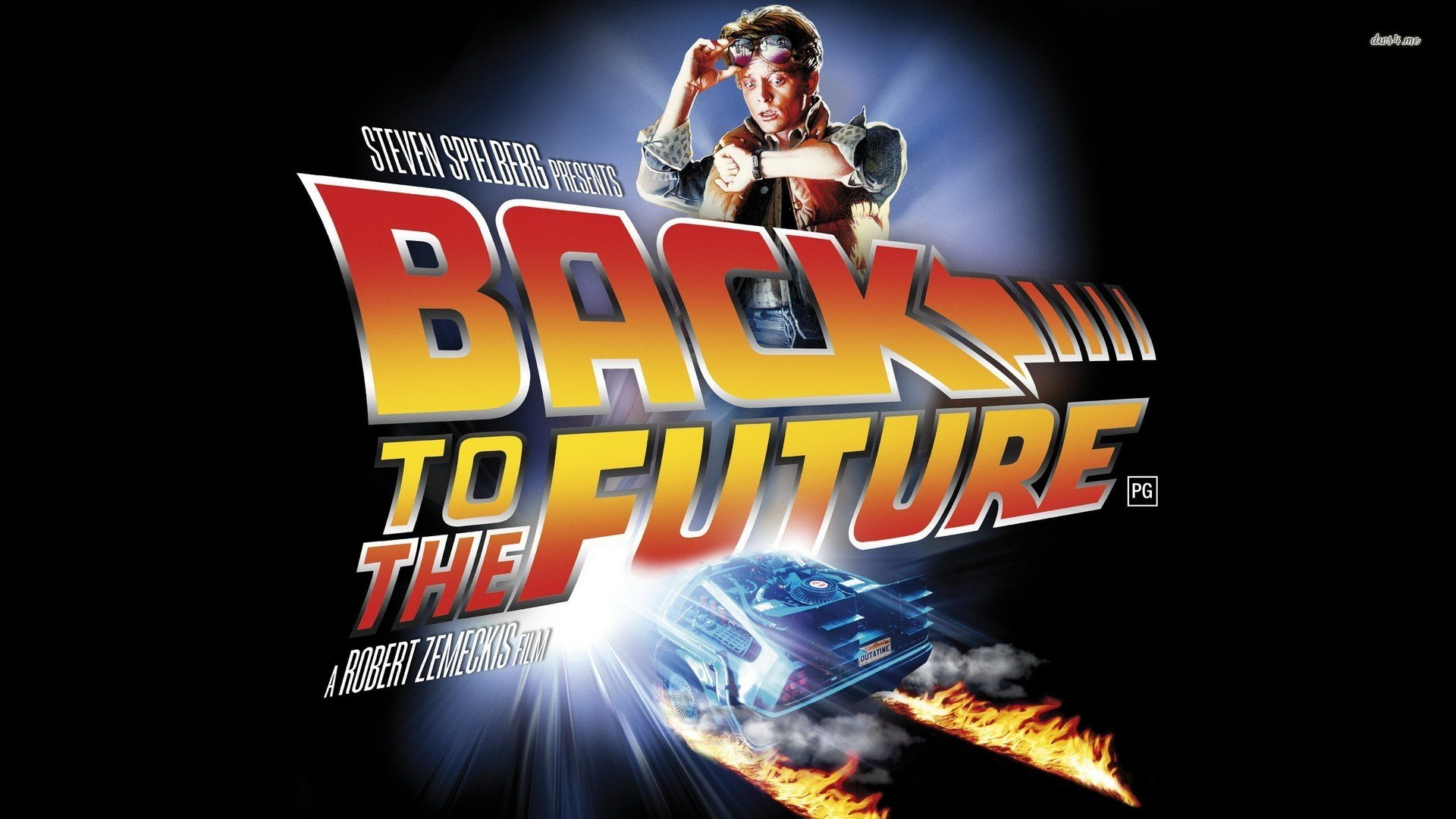 Back To The Future Poster  wallpaper   redftaconko: back to future wallpaper 1920x1080