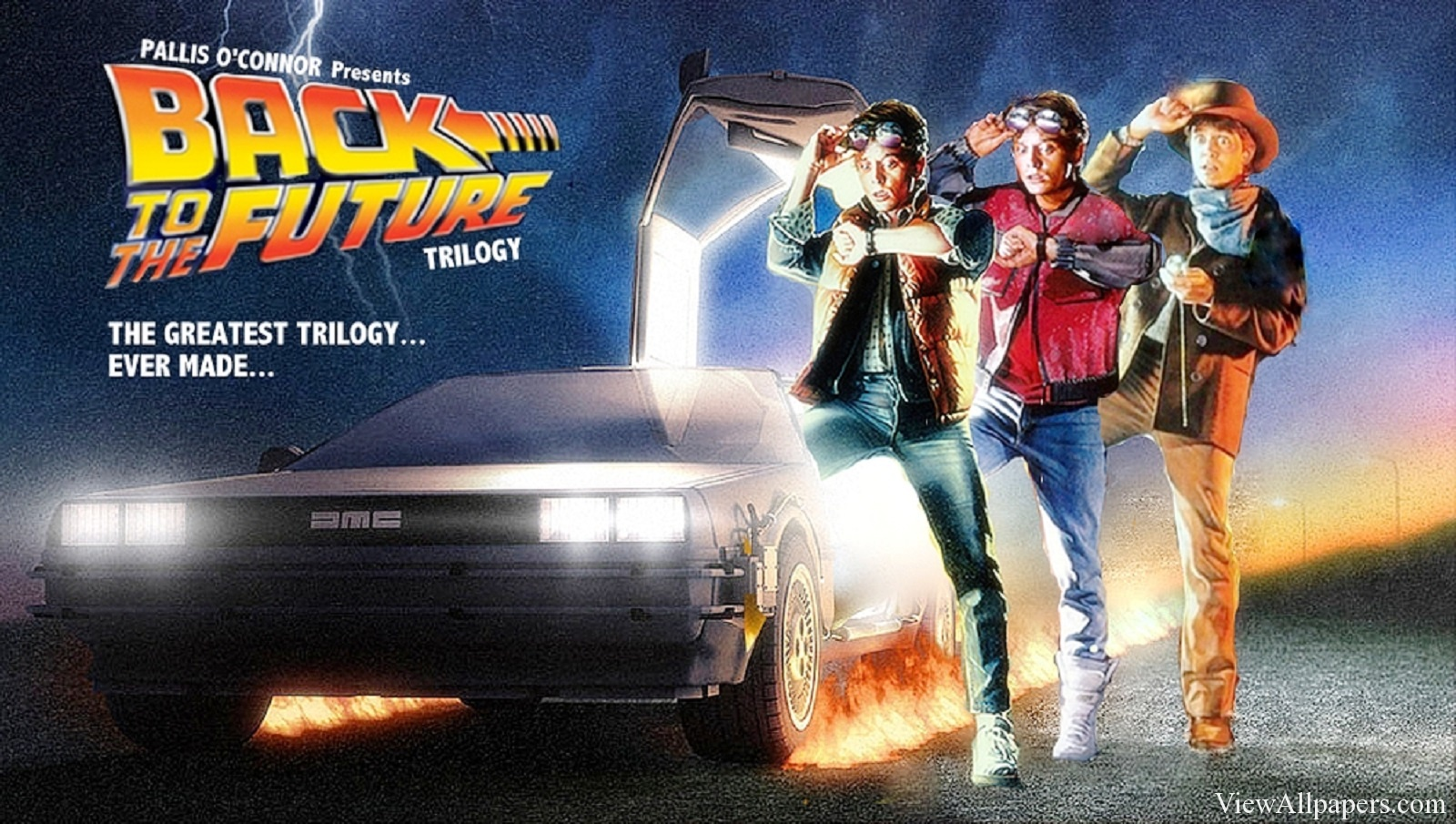 Back To The Future iPhone Wallpapers (23 Wallpapers ...