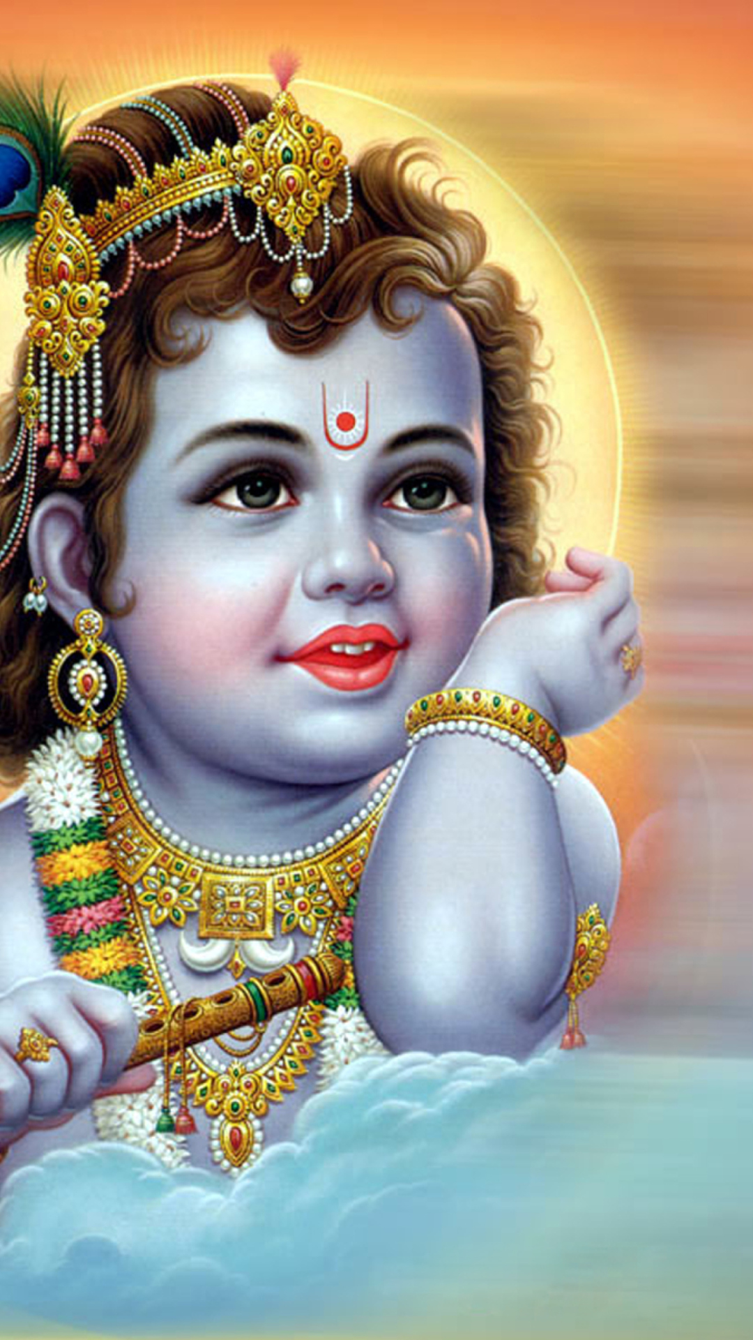 Bal Krishna HD wallpaper for mobile12