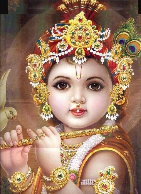 Bal Krishna HD wallpaper for mobile8