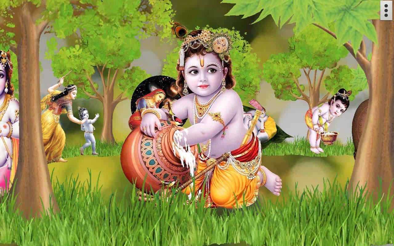 Bal Krishna HD wallpaper for mobile85