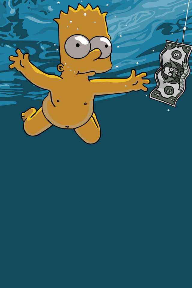 Homer Simpson Wallpaper 640x960