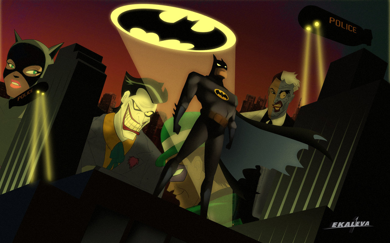 Batman Animated Wallpapers Page  1280x800