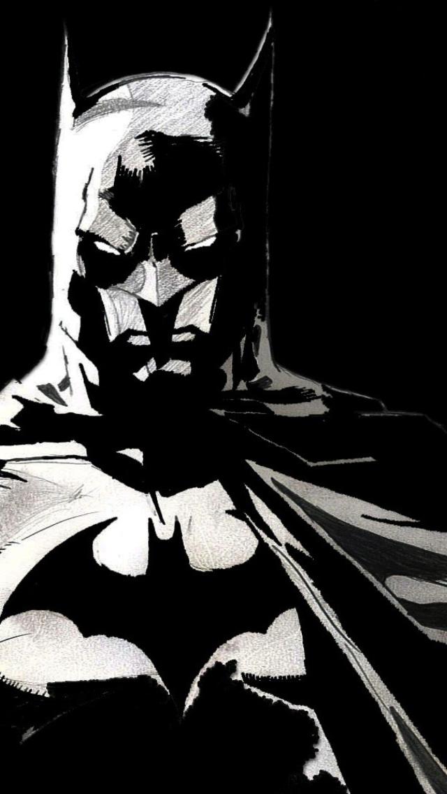 Batman Dark iPhone Plus HD Wallpaper / iPod Wallpaper HD