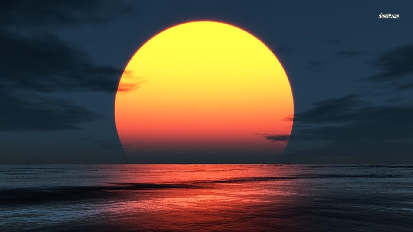 Sunset Wallpapers Wallpaper 1366x768