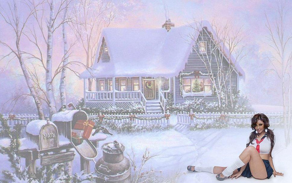 scenic winter beautiful wallpapers - photo #41