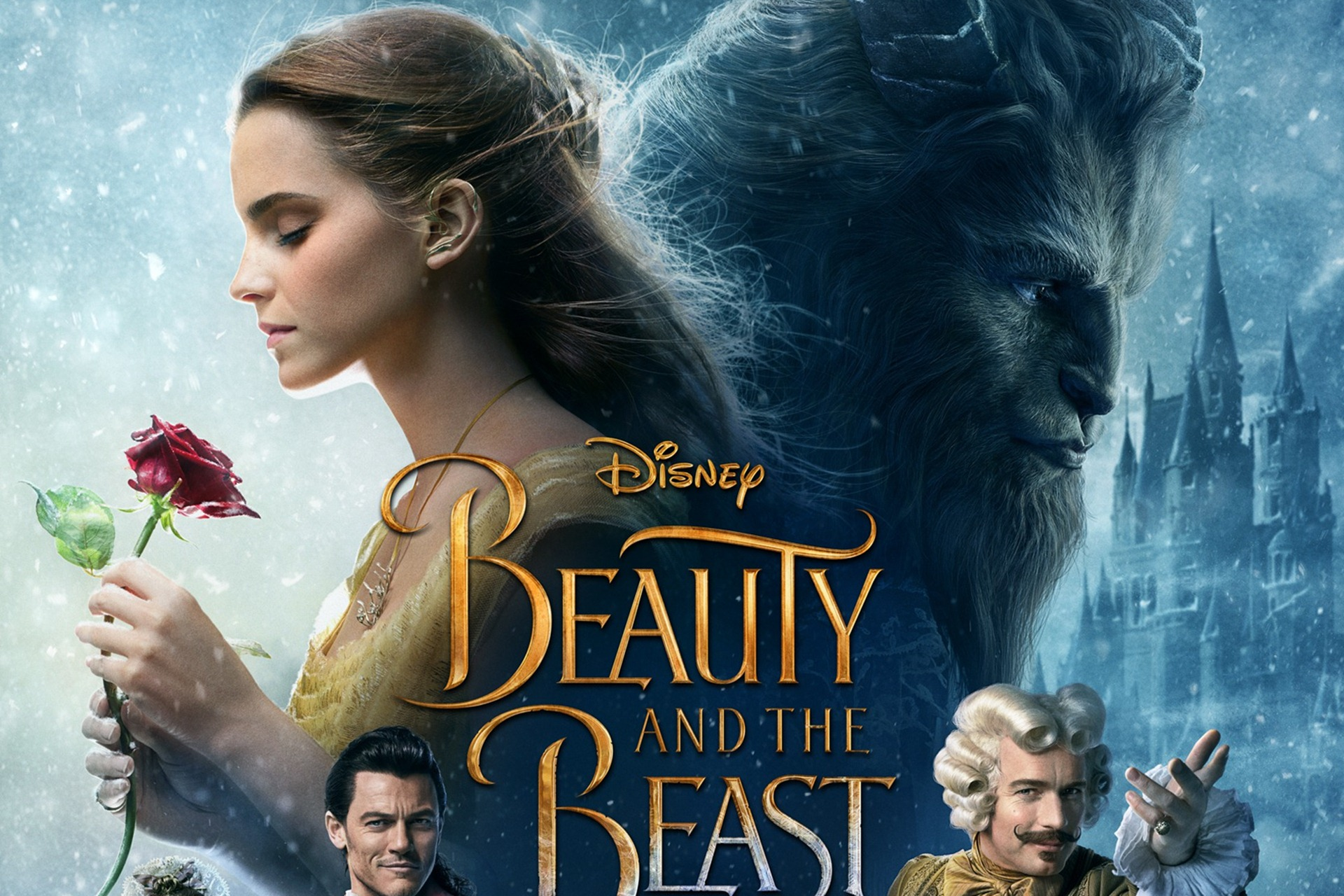 New Beauty And The Beast Movie Hd Desktop Wallpapers 1920x1280