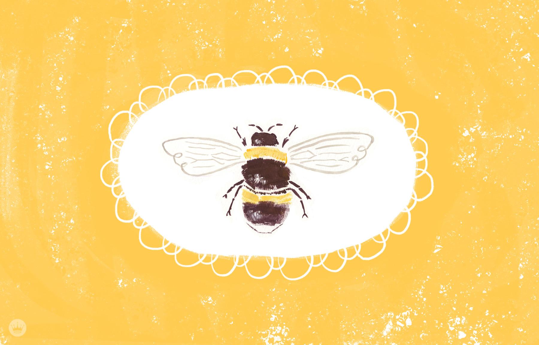 время обои пчелы геральдические на стену постных вторых
