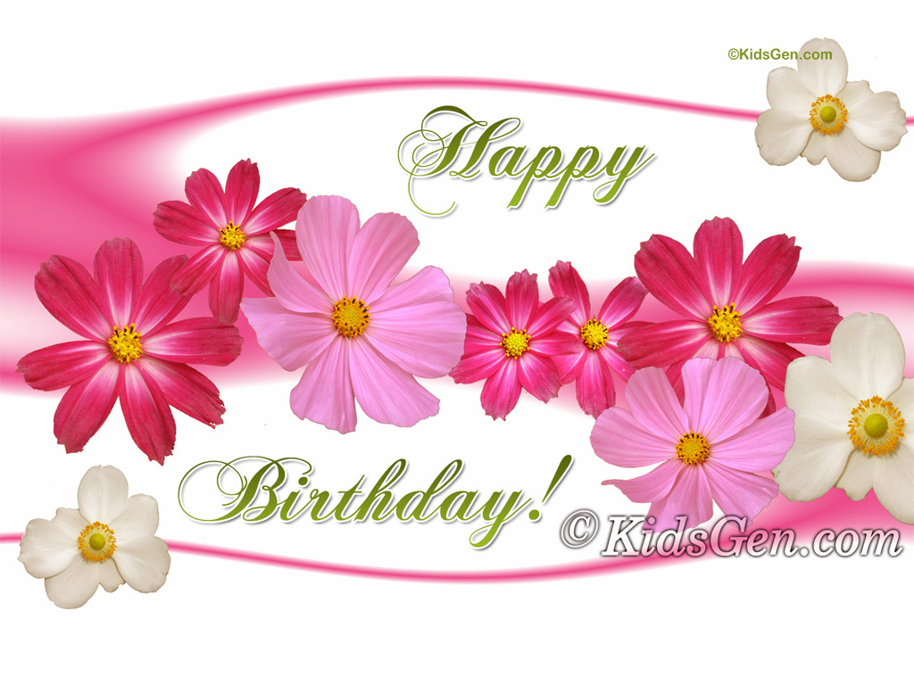 Birthday wallpapers 1024x768