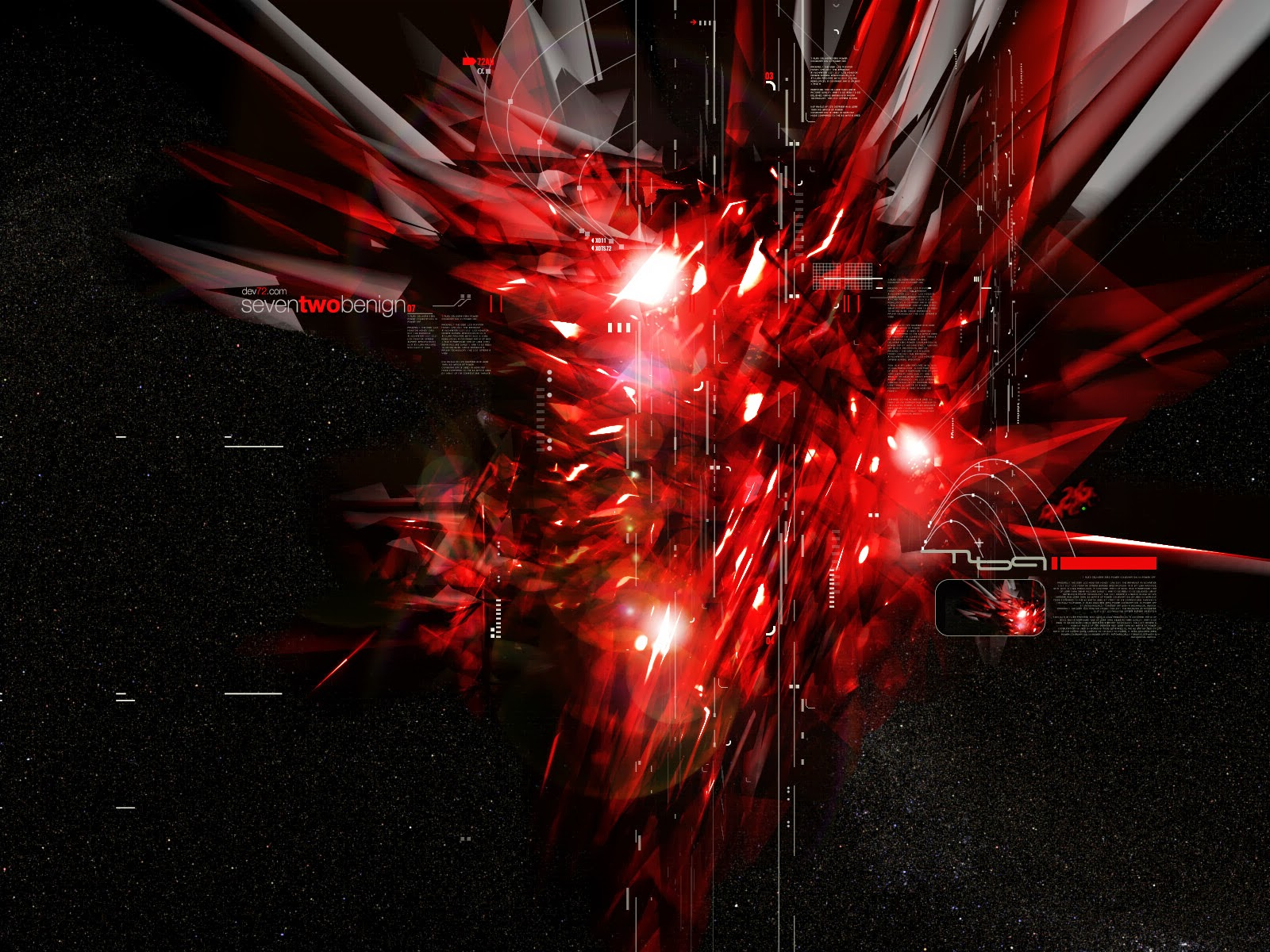 Black And Red Abstract Wallpapers 062