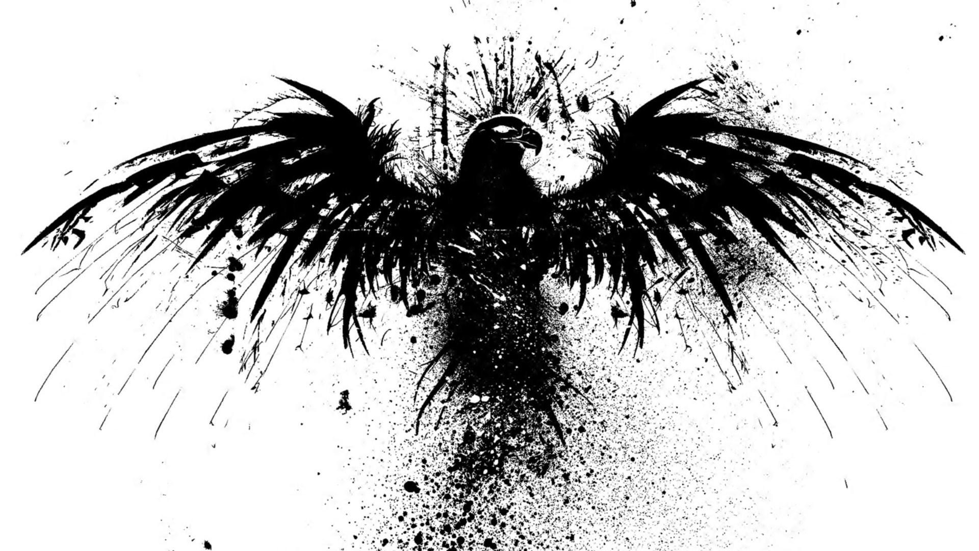 Black And White Swans In Love Wallpaper Black Raven Bird Wallpapers