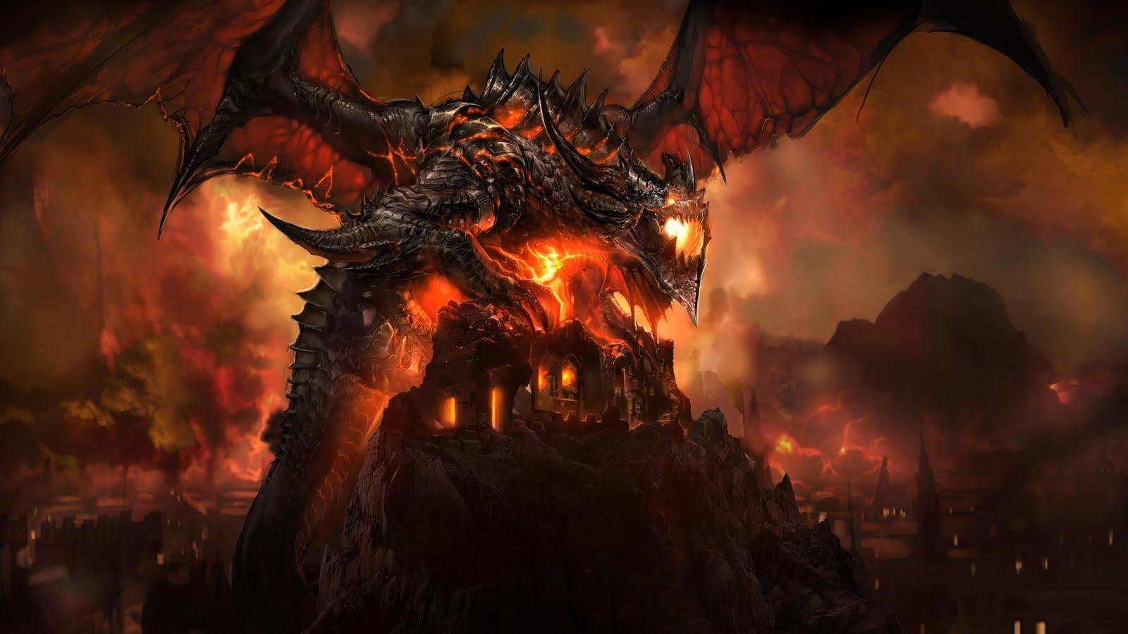 8000 Wallpaper Black Dragon HD Terbaru