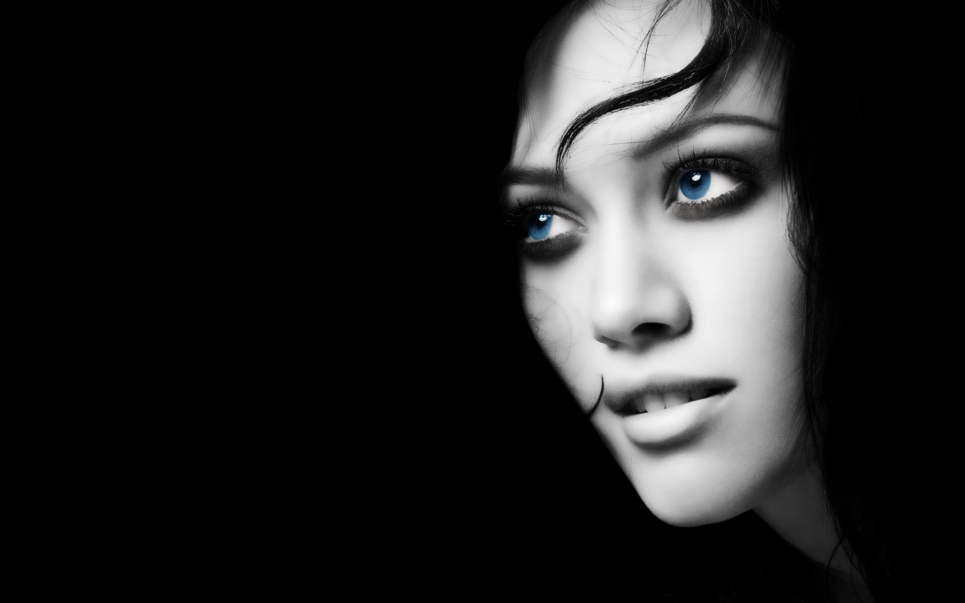 50 Hd And Qhd Beautiful Black And White Wallpapers: Black Girls Wallpapers (48 Wallpapers)