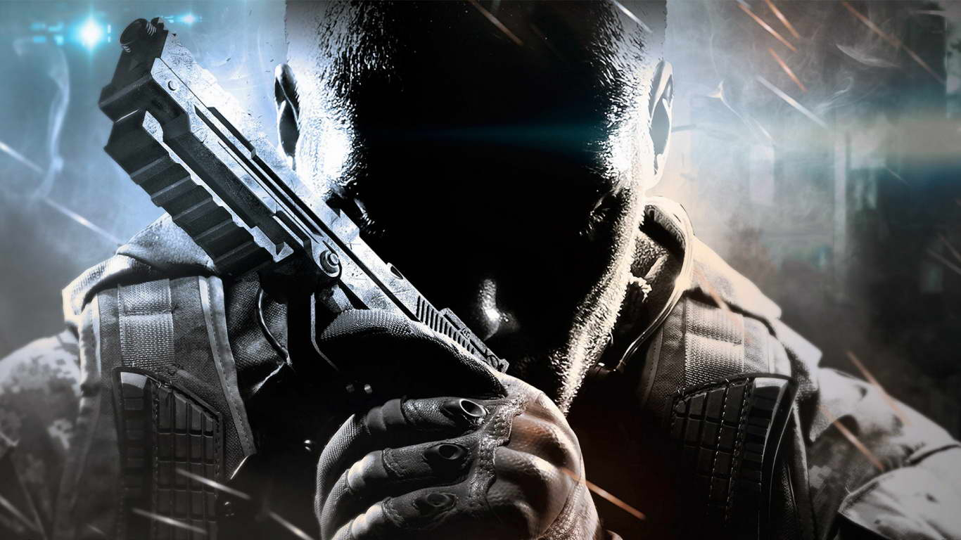 Call Of Duty Black Ops Ii Hd Wallpapers Backgrounds 1366x768