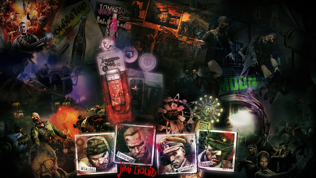 zombies wallpaper  Black Ops  Zombies Wallpaper  Zombies 1024x576
