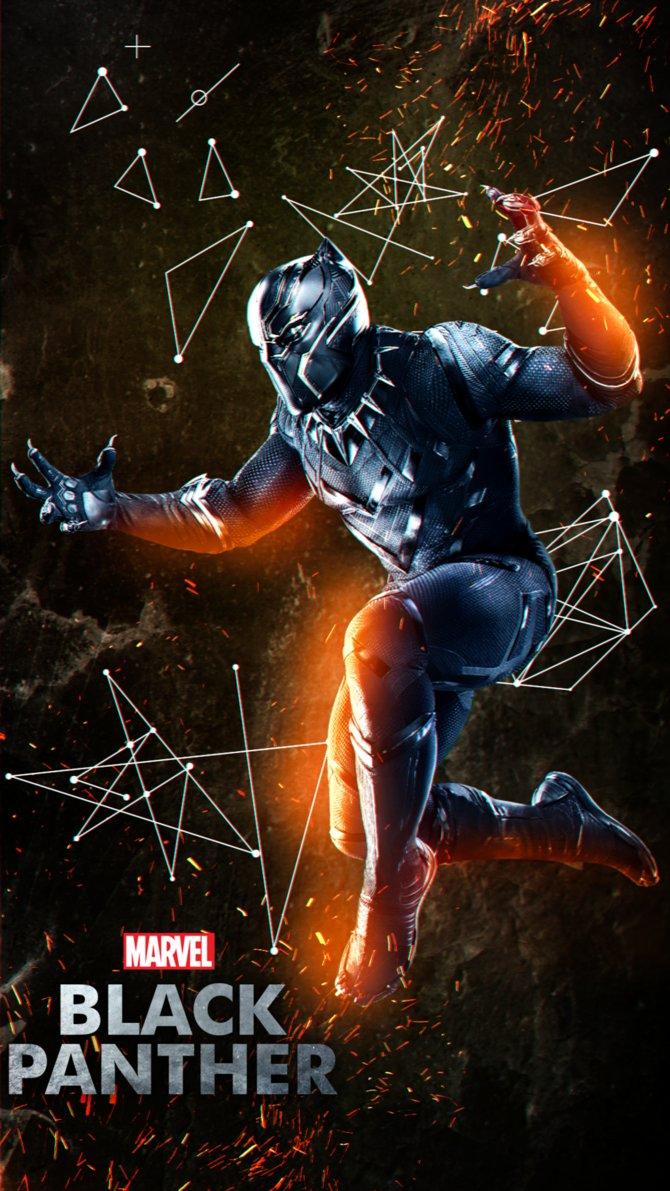 Beautiful Black Panther 2k Wallpaper Images
