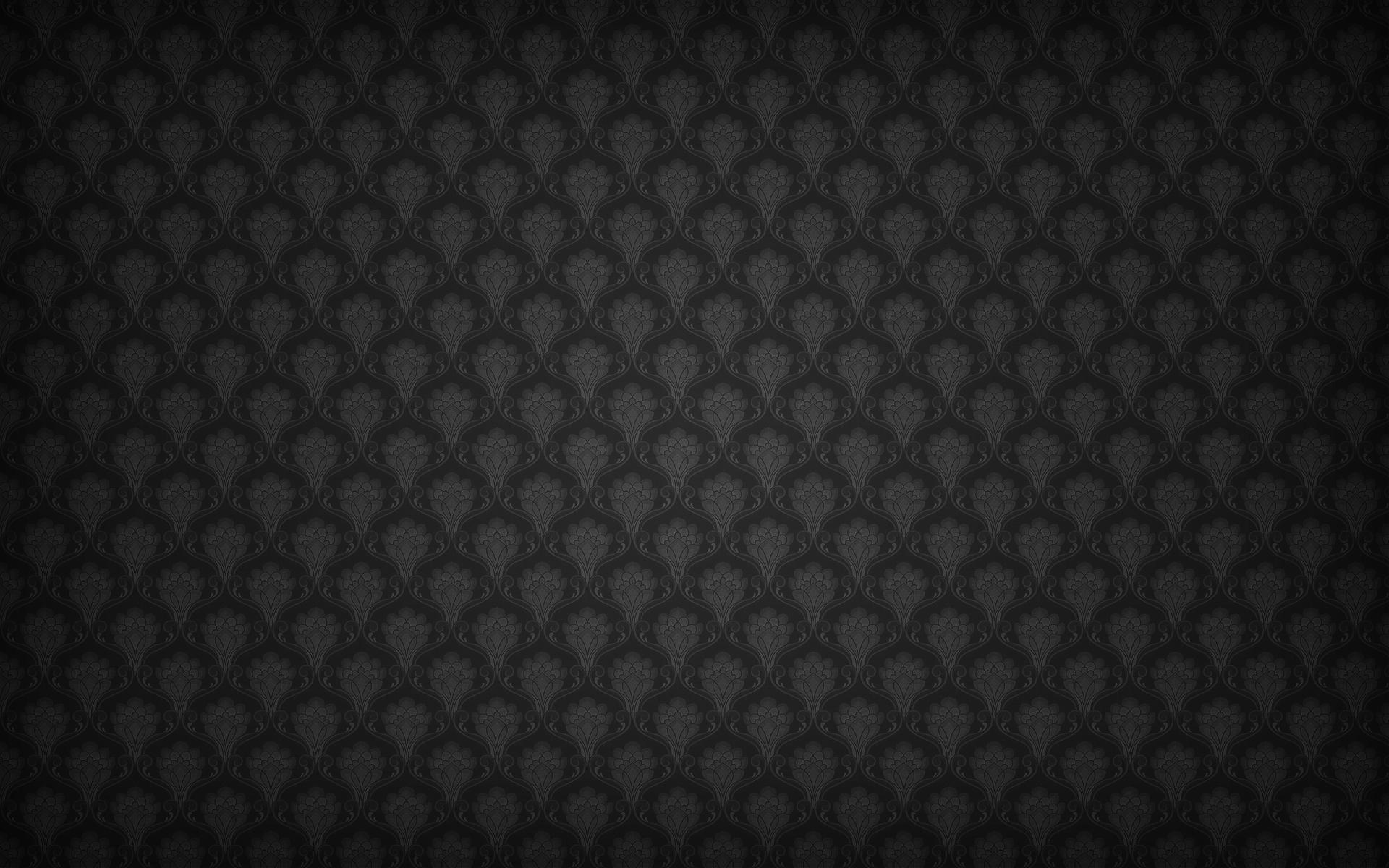 black pattern wallpaper hd