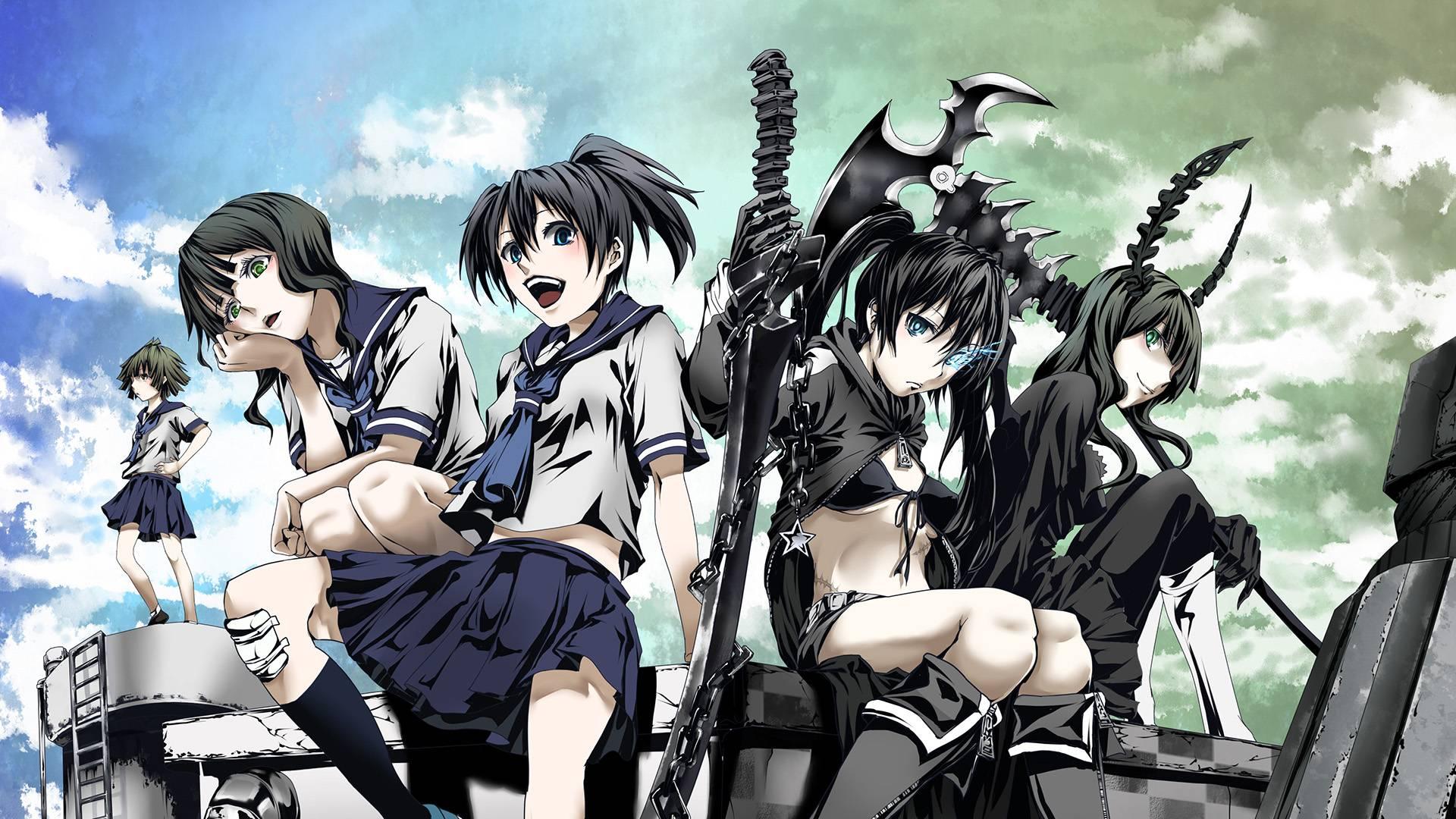 Insane Black Rock Shooter Zerochan Anime Image Board 1920x1080
