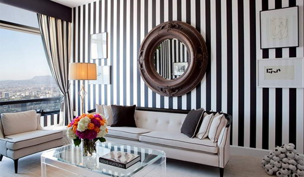 Superior Black And White Wallpaper Ideas For Living Room Nakicphotography Part 24