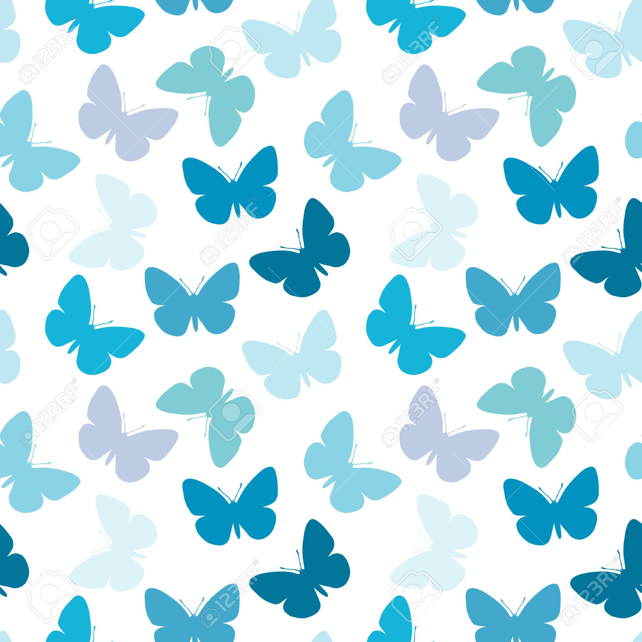Blue butterfly wallpapers 46 wallpapers adorable for Butterfly wallpaper for walls